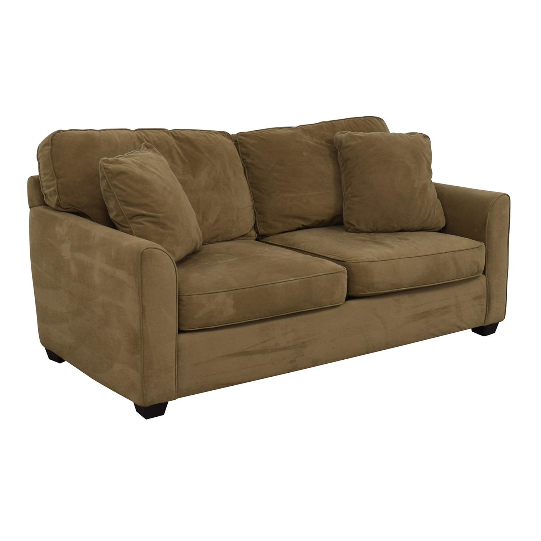 buy JC Penney Two-Cushion Loveseat JC Penney Loveseats
