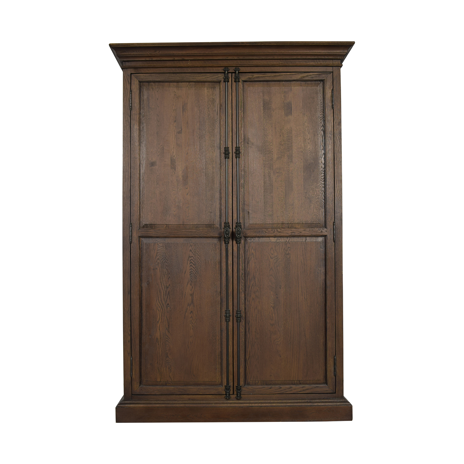 shop Restoration Hardware Restoration Hardware French Panel Double Door Cabinet online