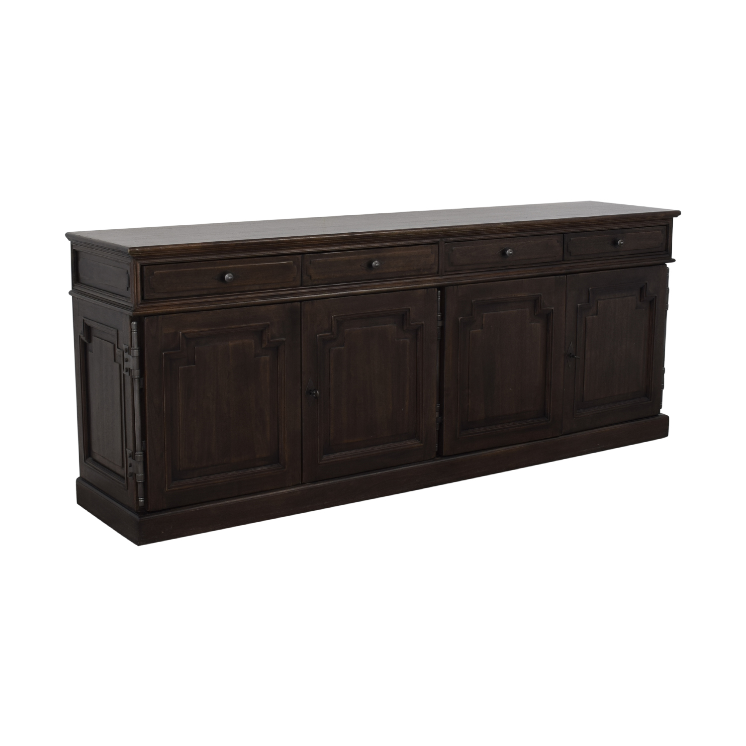 Restoration Hardware Restoration Hardware Montpellier Sideboard With Drawers brown