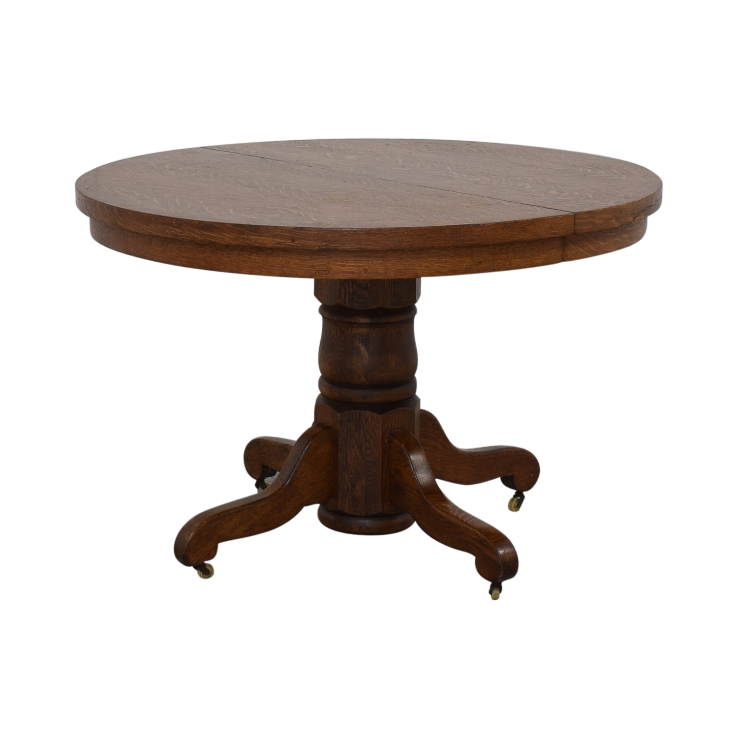 shop Antique Round Dining Table  Dinner Tables