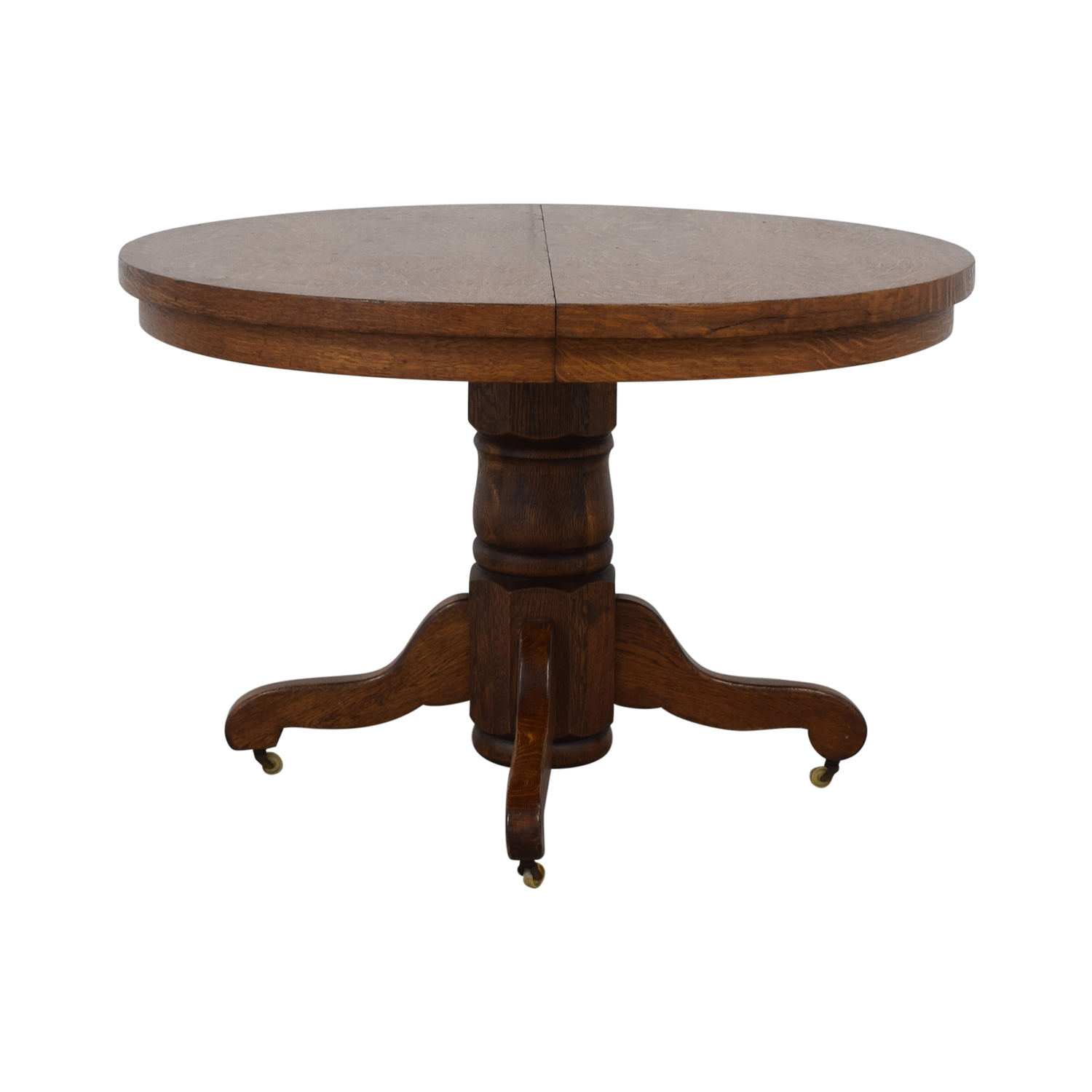 Antique Round Dining Table nyc