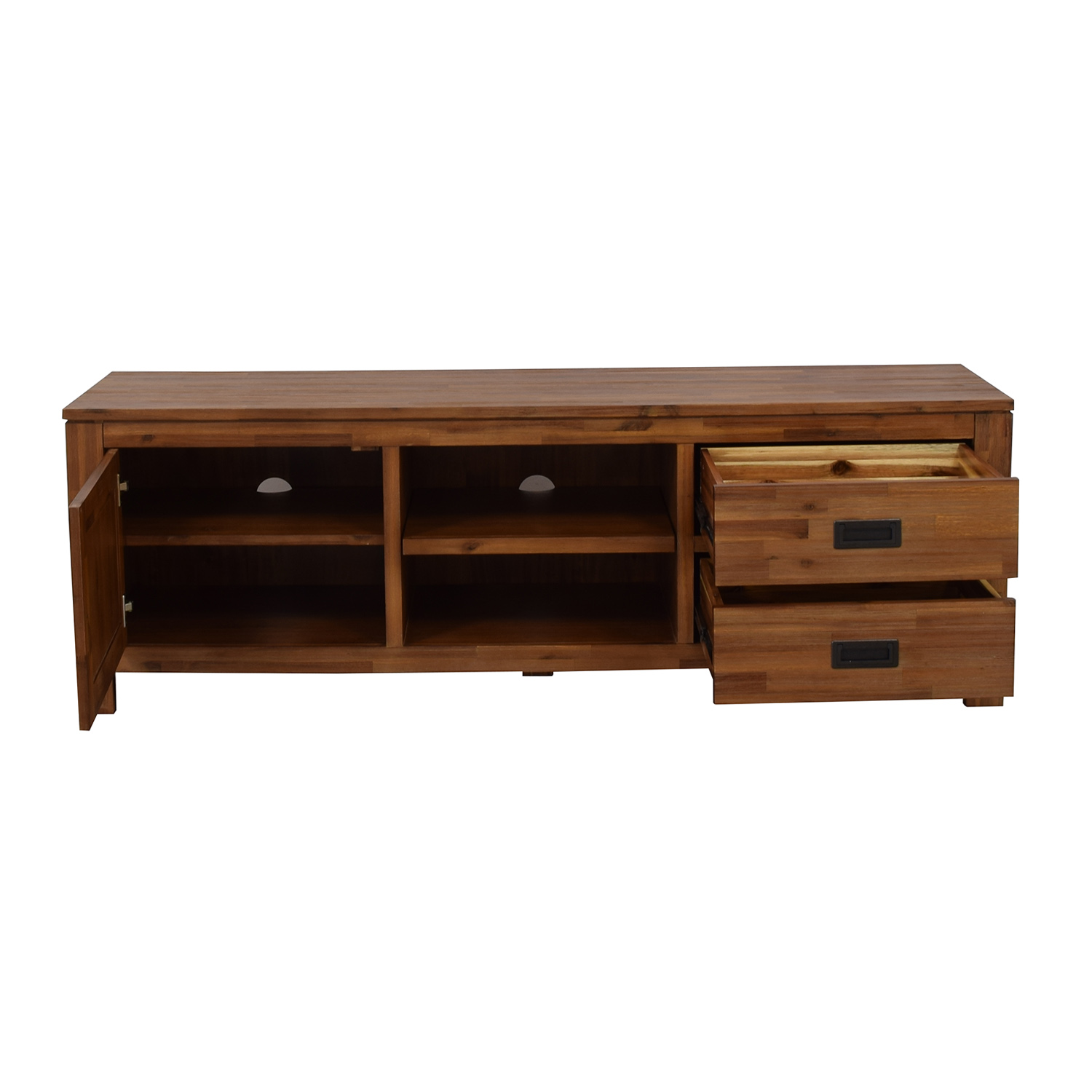 Macy's Macy's Cresent Fine Furniture Wooden TV Stand nyc