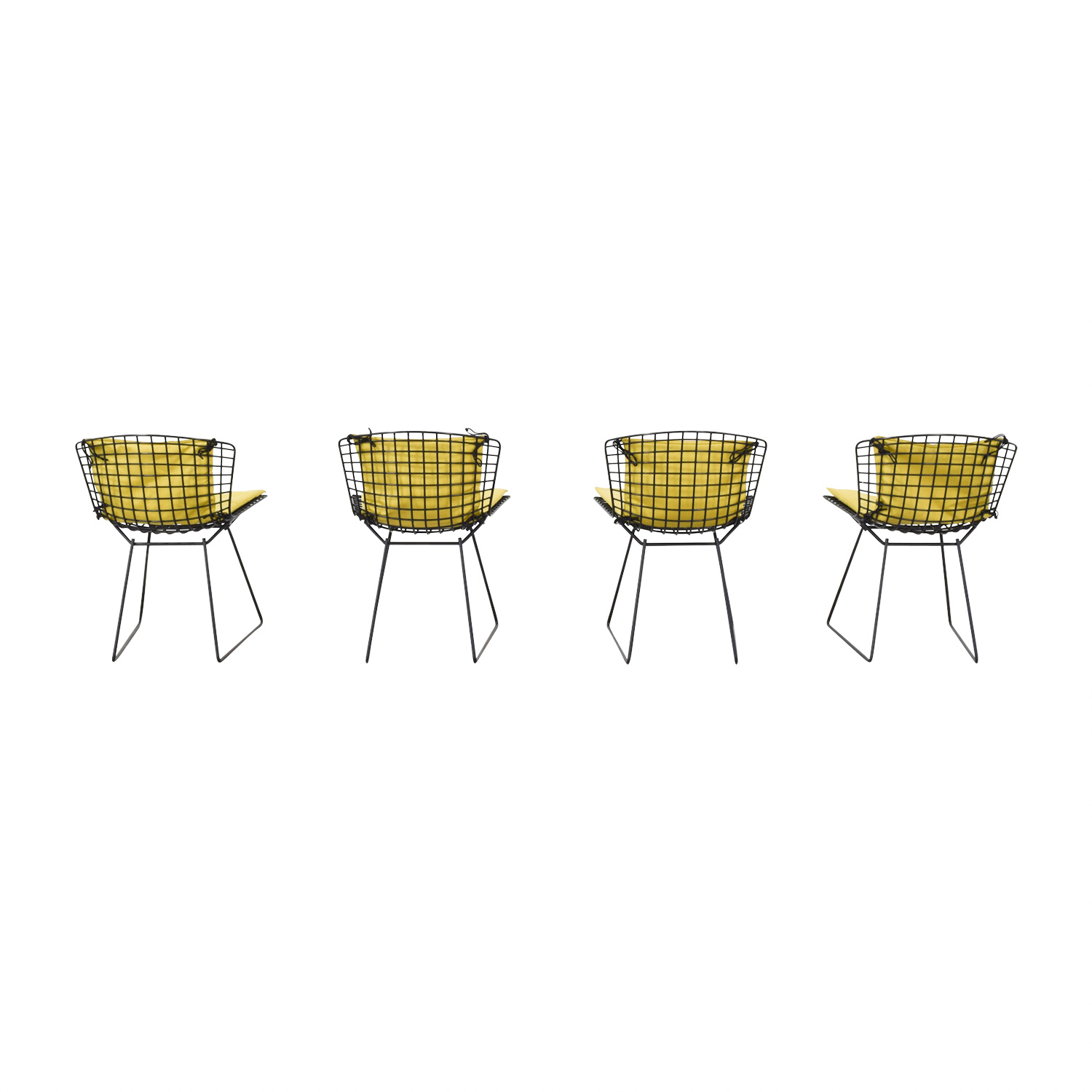 shop Knoll Bertoia Wire Chairs with Ligne Roset Cushions online