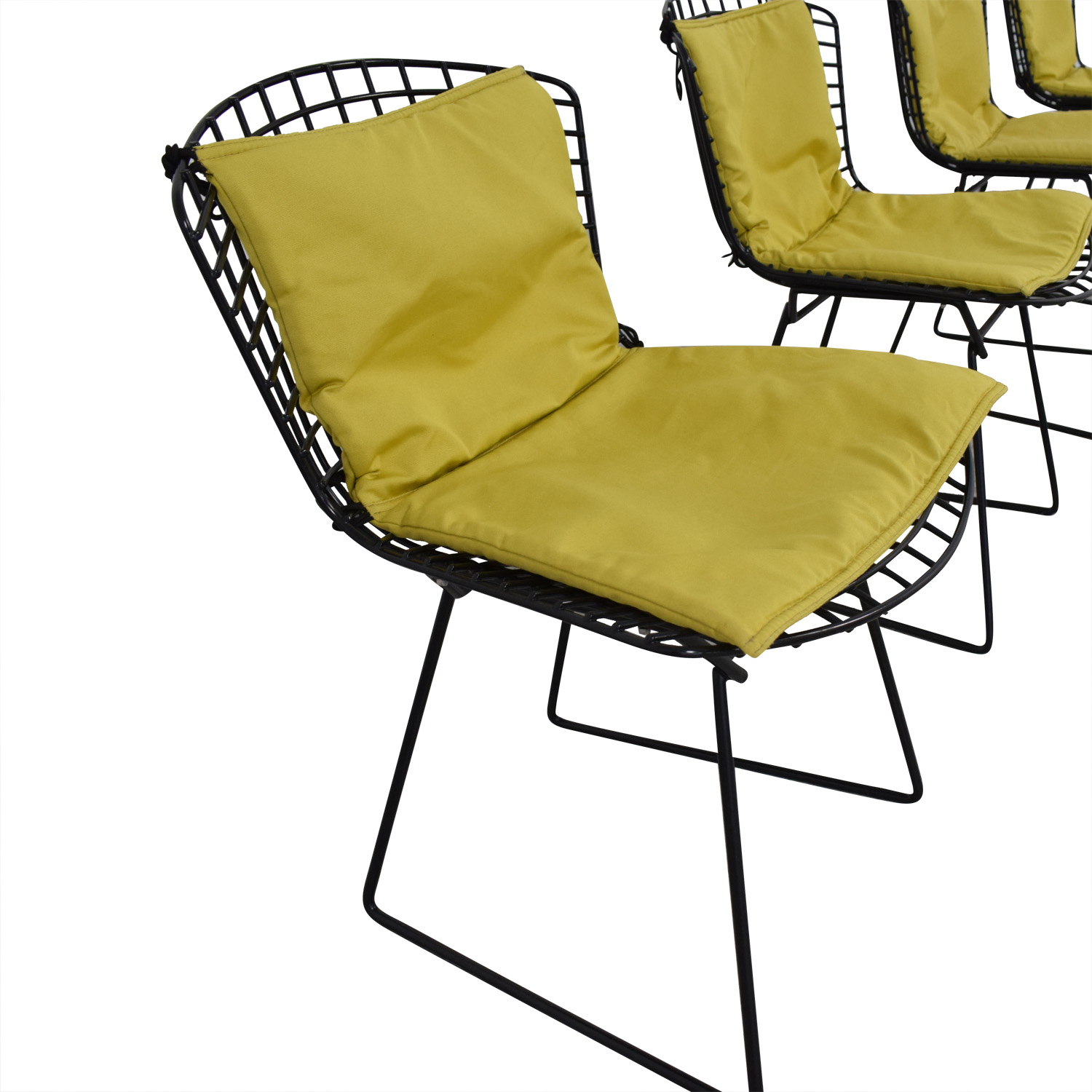 Knoll Bertoia Wire Chairs with Ligne Roset Cushions price