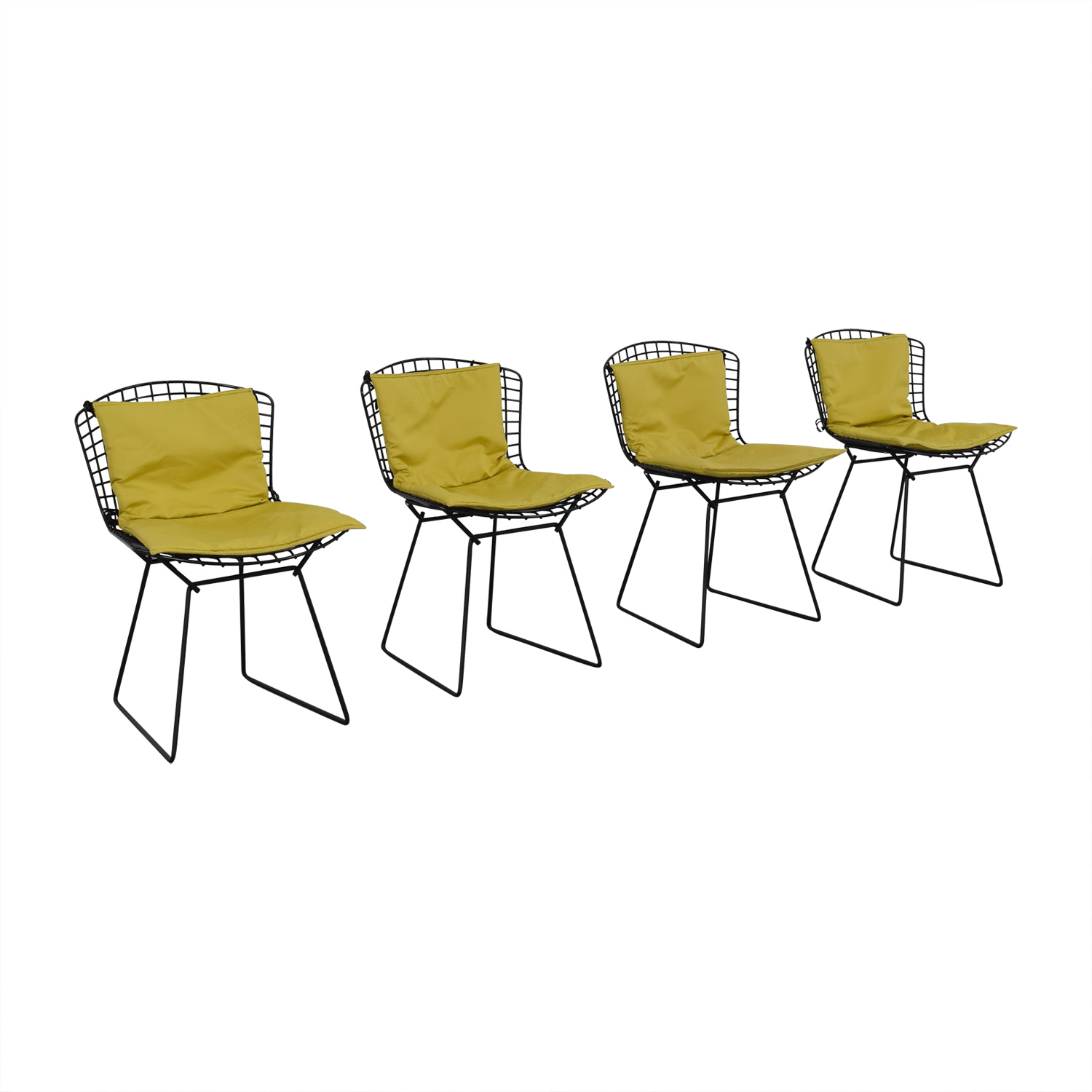 buy Bertoia Wire Chairs with Ligne Roset Cushions Knoll