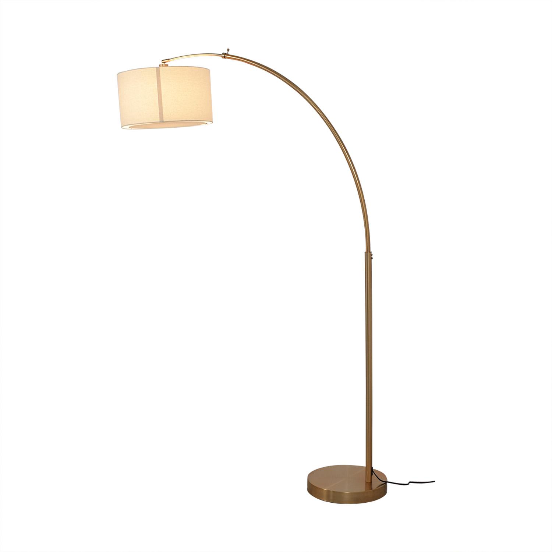 CB2 CB2 Big Dipper Brass Arc Lamp for sale