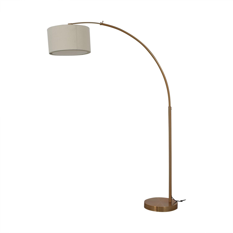 CB2 CB2 Big Dipper Brass Arc Lamp nyc