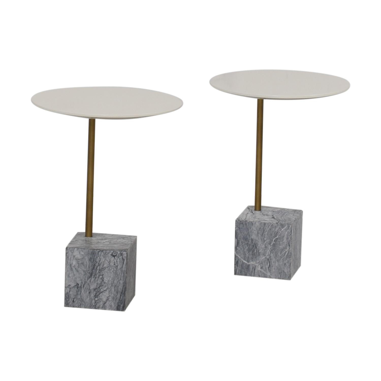 West Elm West Elm Cube C-Side Tables on sale