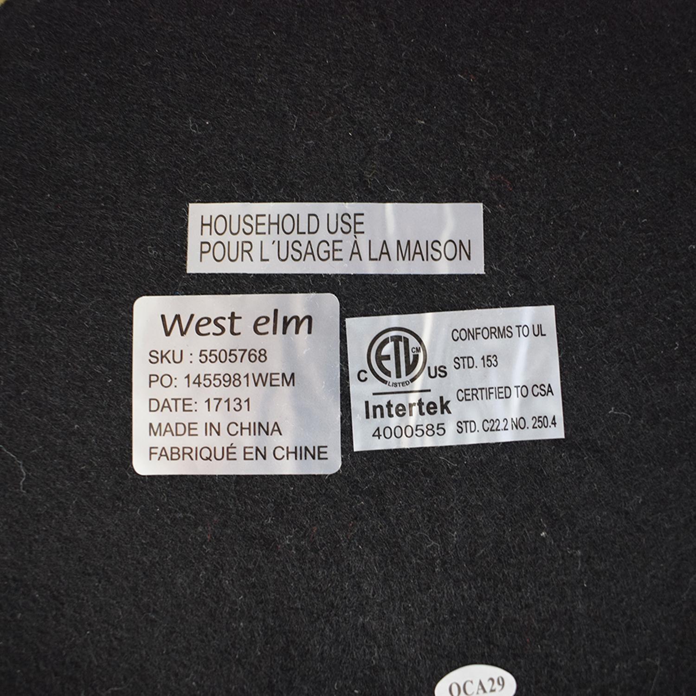 buy West Elm Petite Arc Metal Table Lamp Antique Brass West Elm Decor
