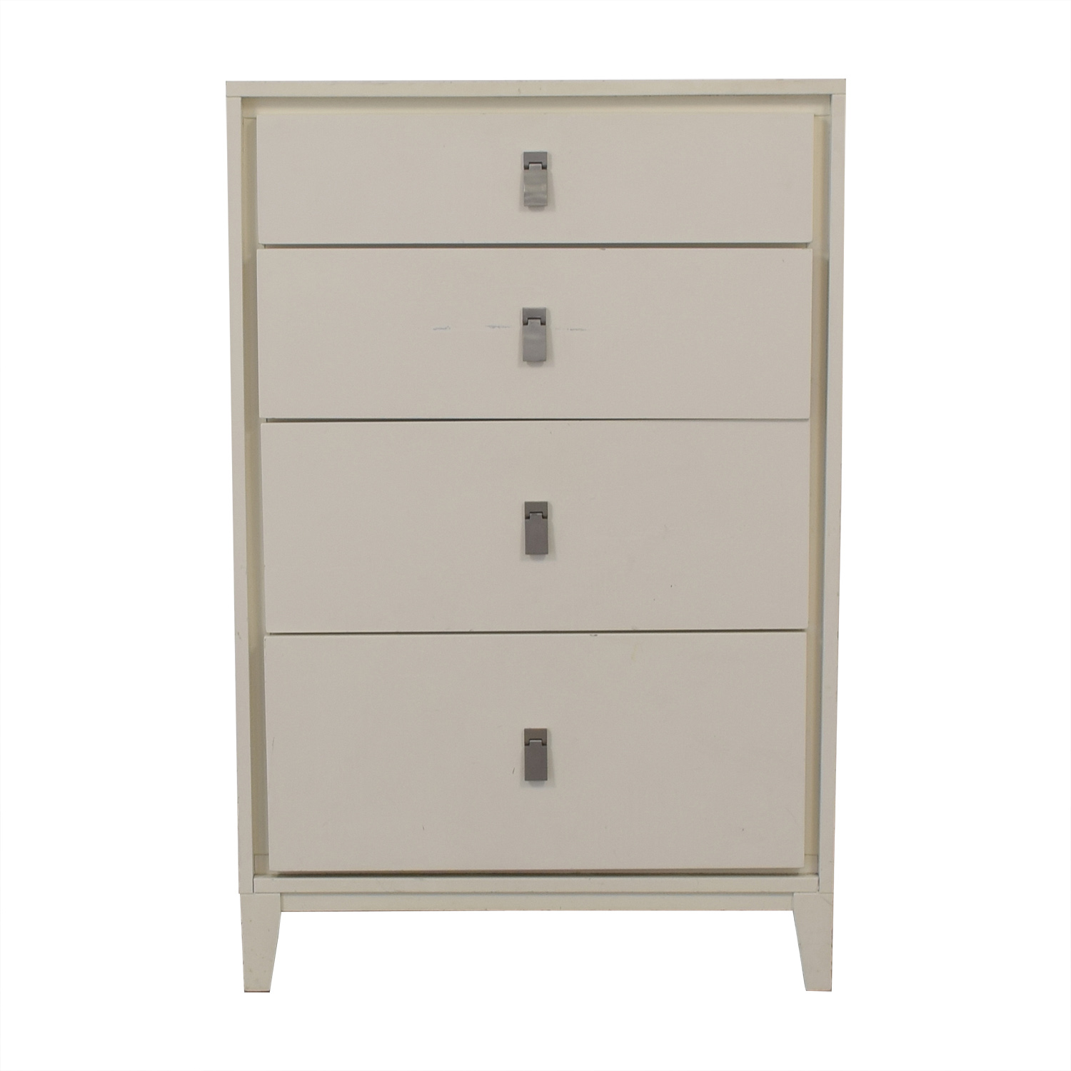 West Elm West Elm Niche Four Drawer Dresser White