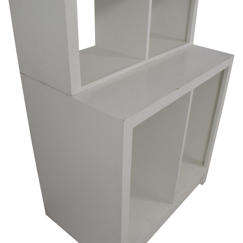 Modern Shelving Unit on sale