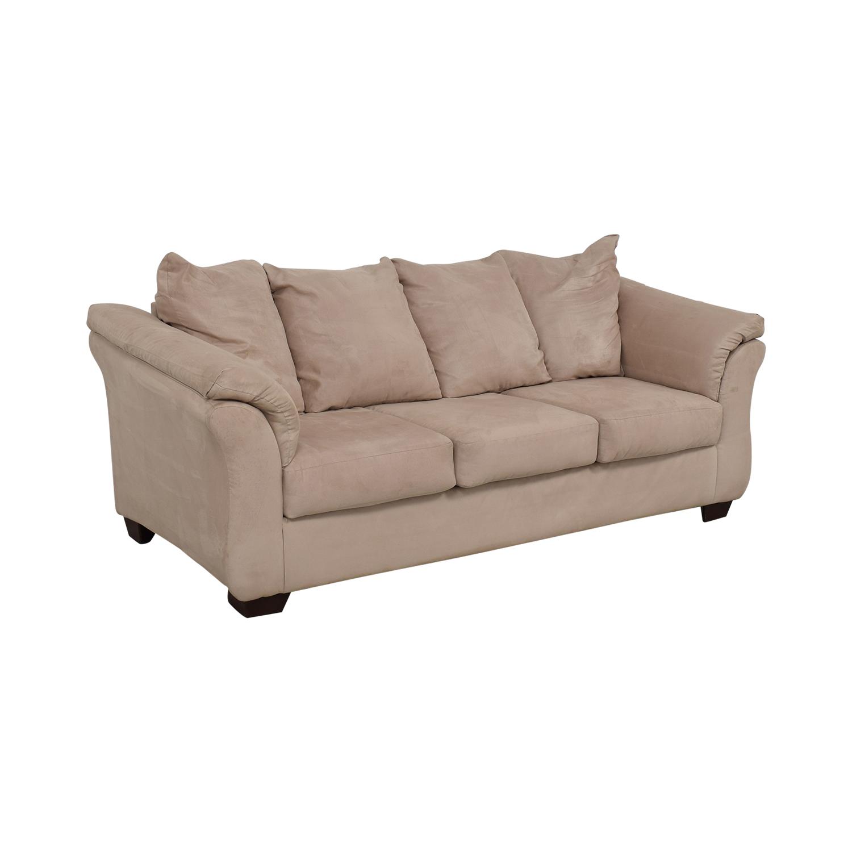 buy Ashley Furniture Three-Cushion Sofa Ashley Furniture Classic Sofas