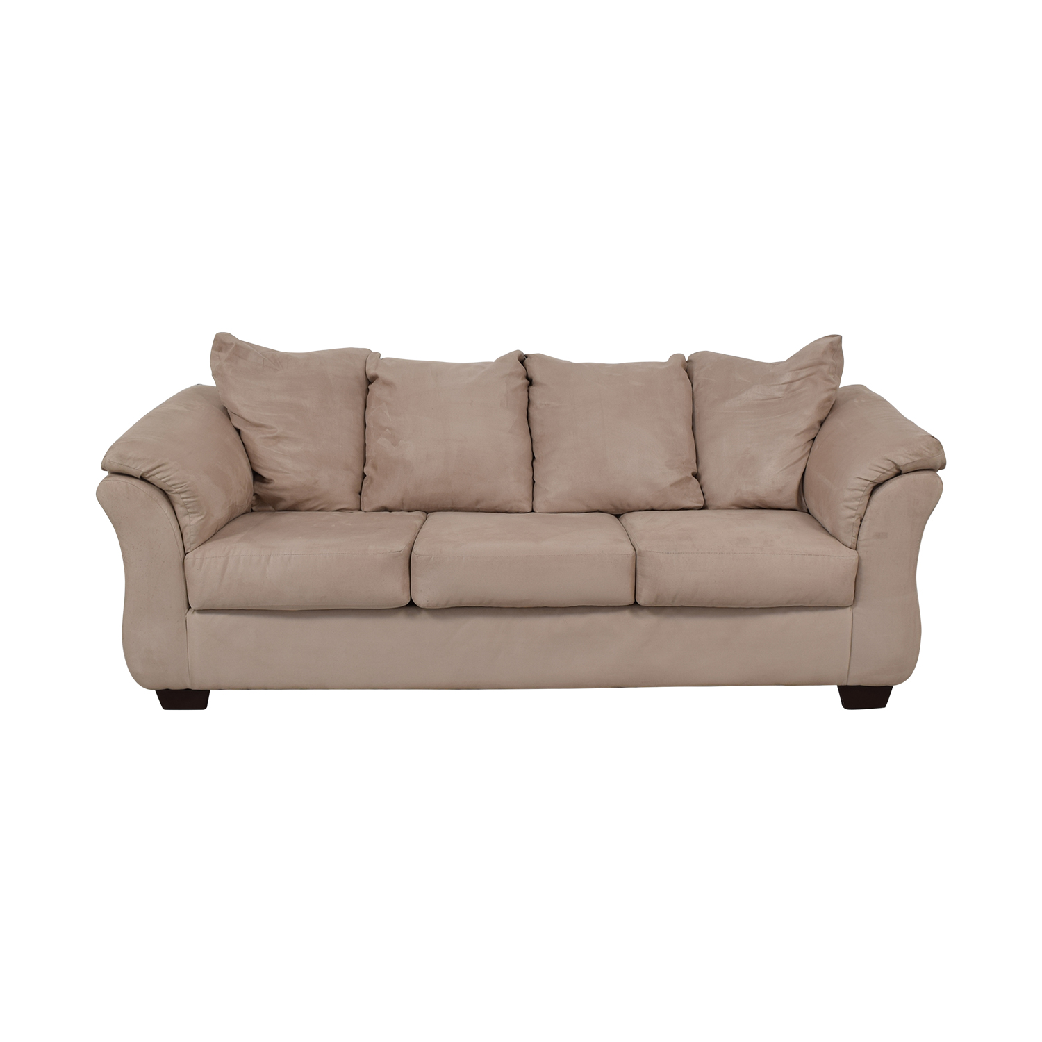 Ashley Furniture Three-Cushion Sofa / Classic Sofas