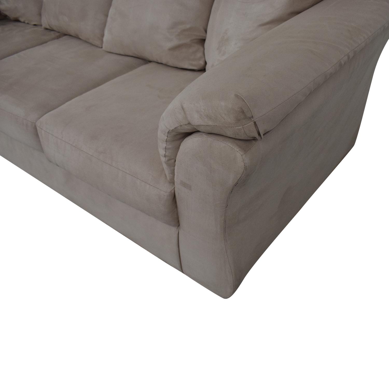 Ashley Furniture Ashley Furniture Three-Cushion Sofa dimensions