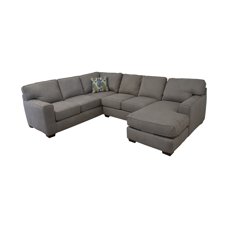 Klaussener Abbott Three-Piece Chaise Sectional Sofa / Sofas
