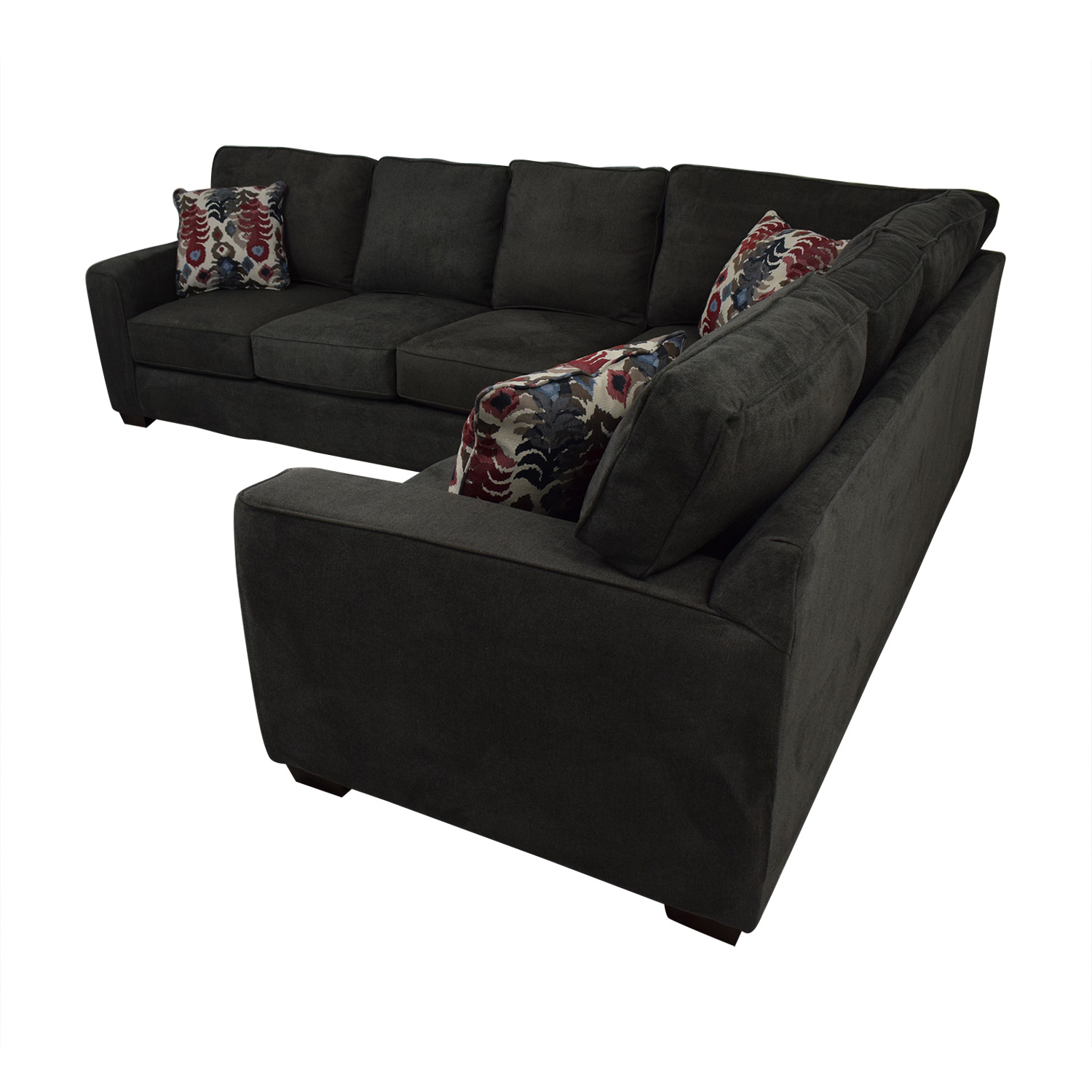 buy Klaussner Abbott Two-Piece Sectional Sofa Klaussner Sectionals