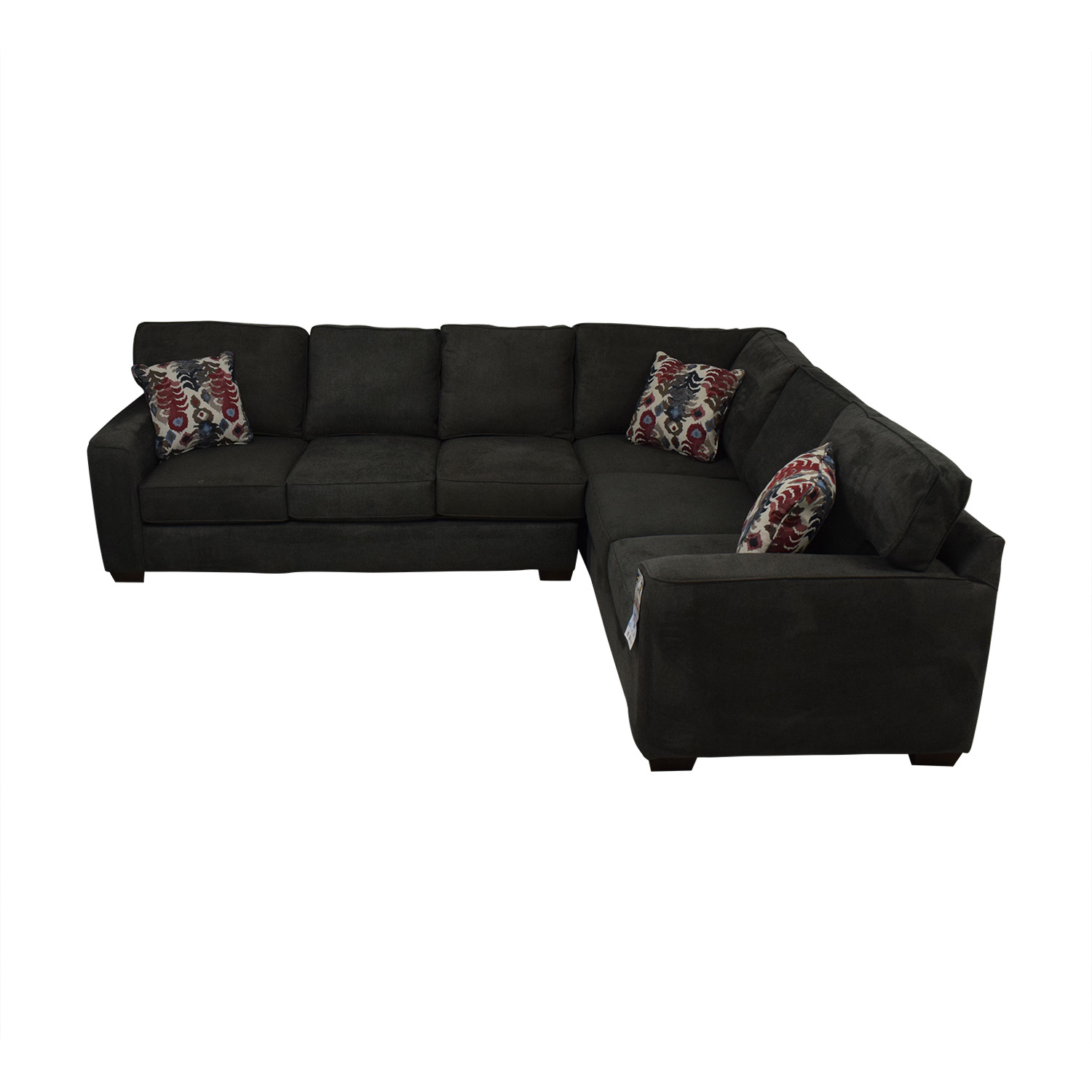 buy Klaussner Abbott Two-Piece Sectional Sofa Klaussner Sofas