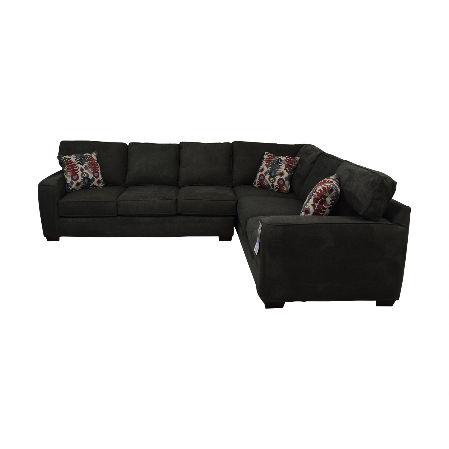 shop Klaussner Abbott Two-Piece Sectional Sofa Klaussner Sectionals
