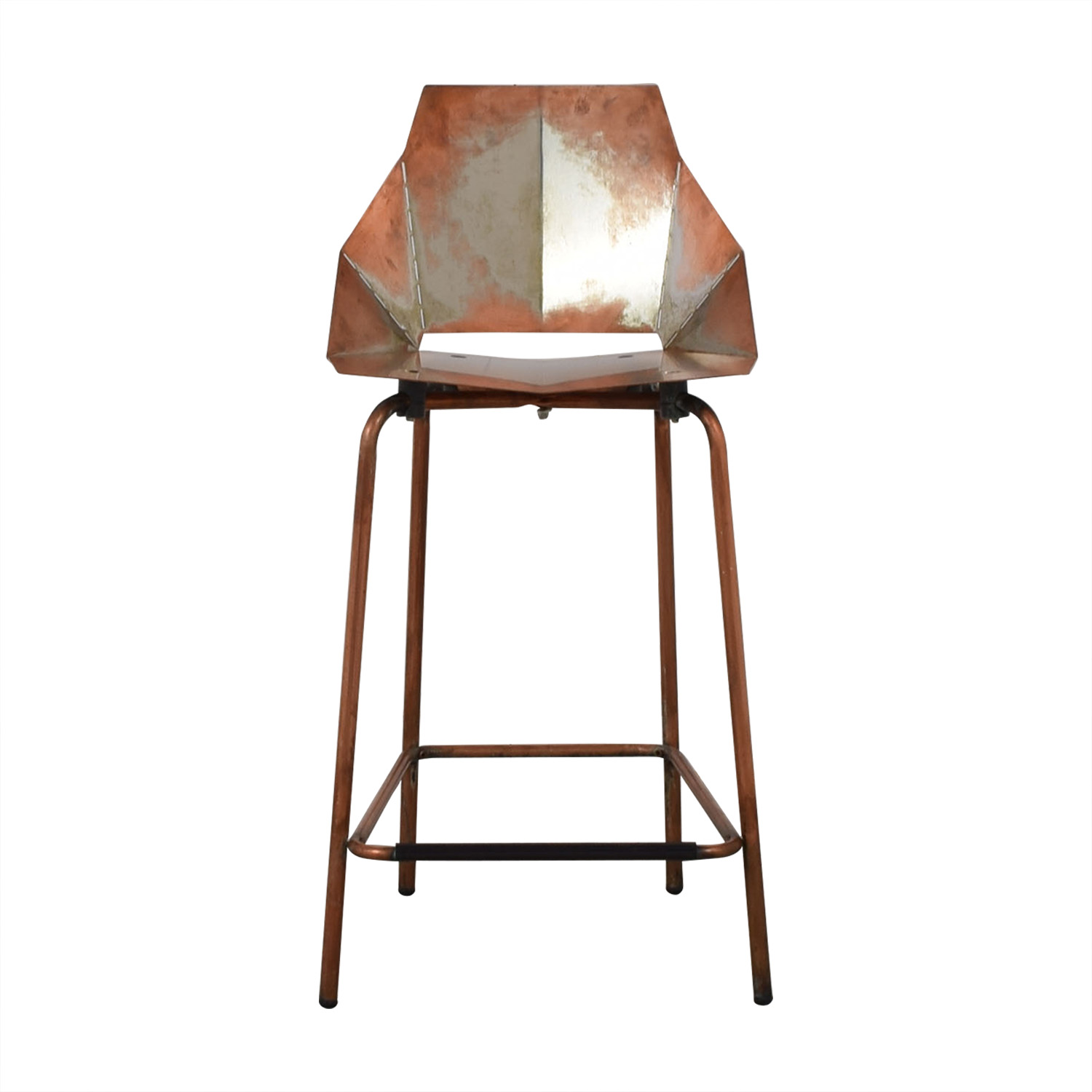 shop Blu Dot Blu Dot Copper Real Good Counter Stool online
