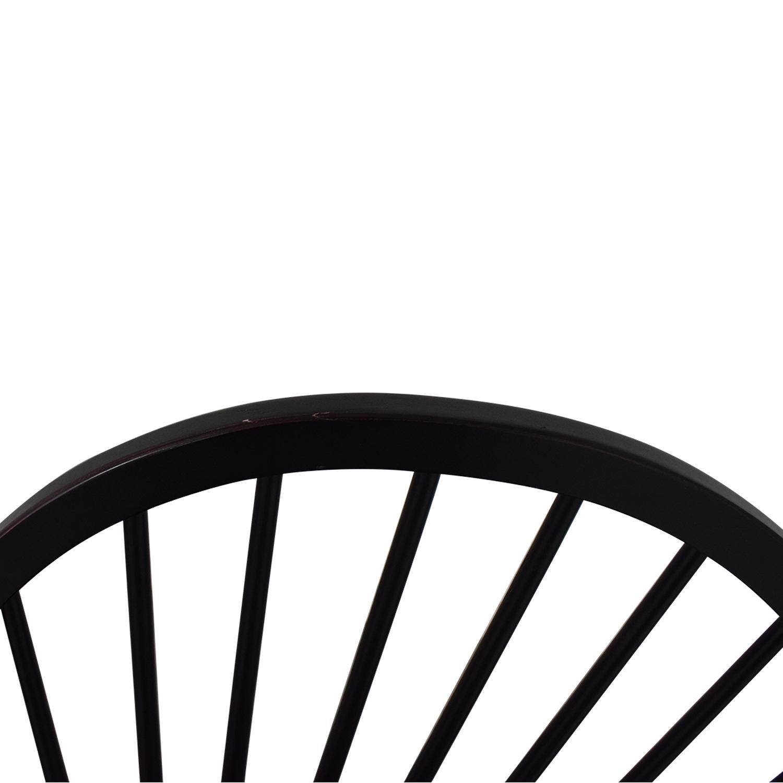 Ethan Allen Ethan Allen Gilbert Side Chairs black
