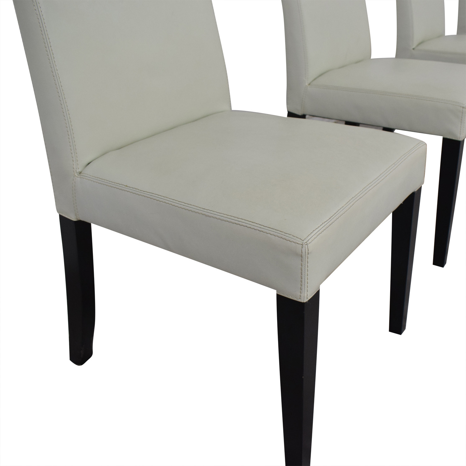 Crate And Barrel Dining Sets: Crate & Barrel Crate & Barrel White Leather