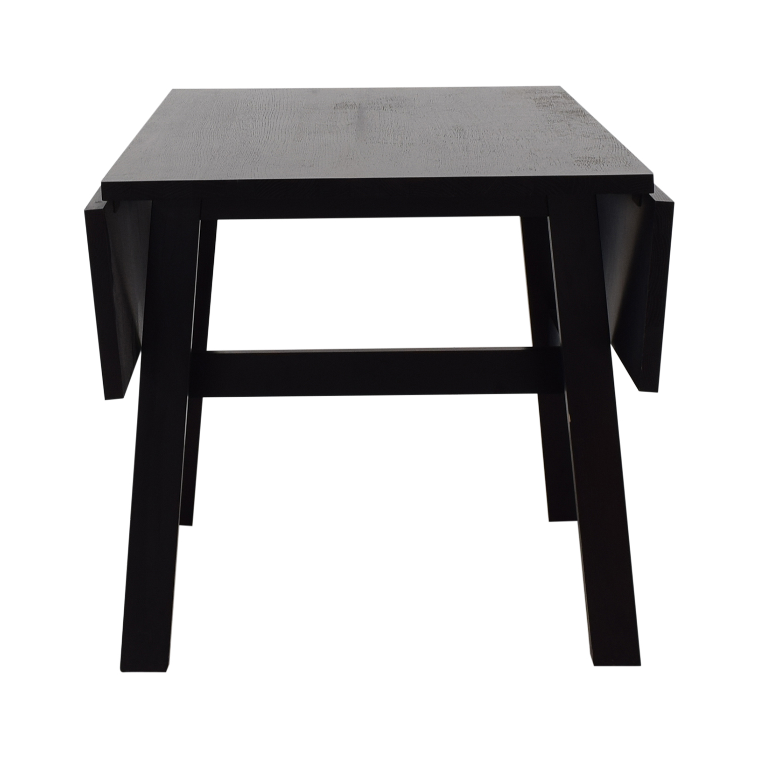 Crate & Barrel Crate & Barrel Black Wood Dining Table Tables