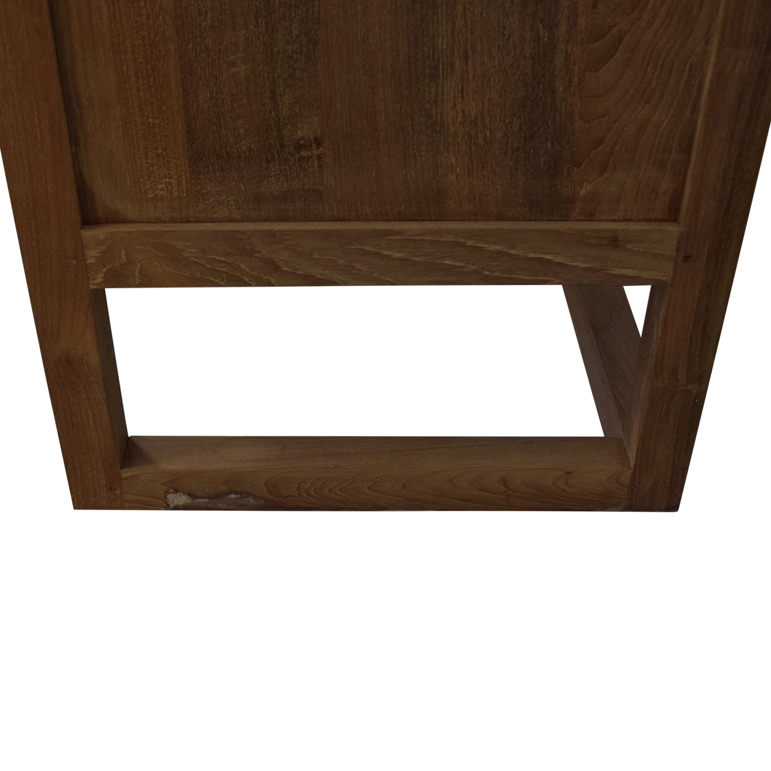 Crate & Barrel Crate & Barrel Linea II Natural Three-Drawer Chest used