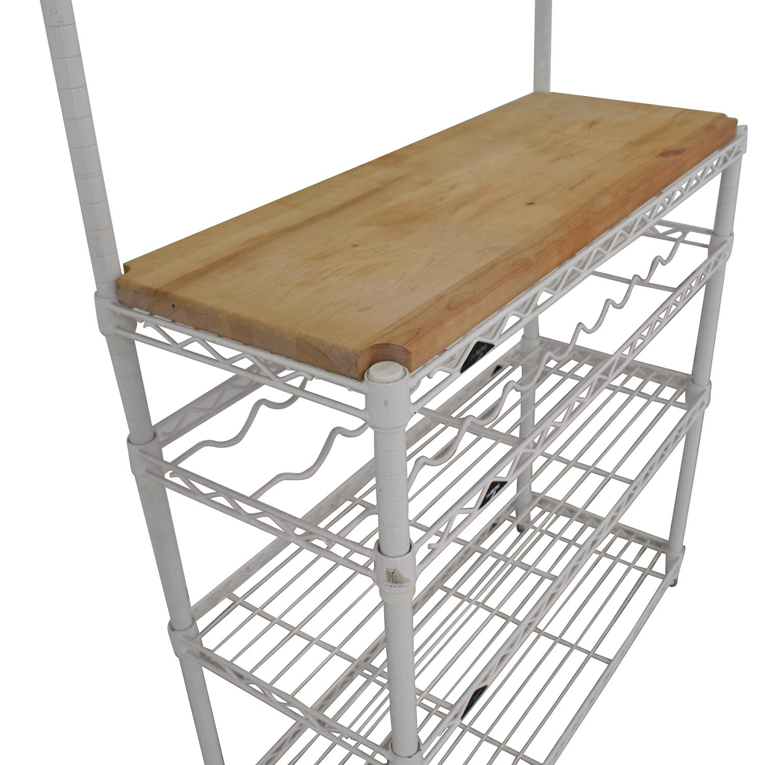 shop The Container Store InterMetro Baker's Rack The Container Store Tables
