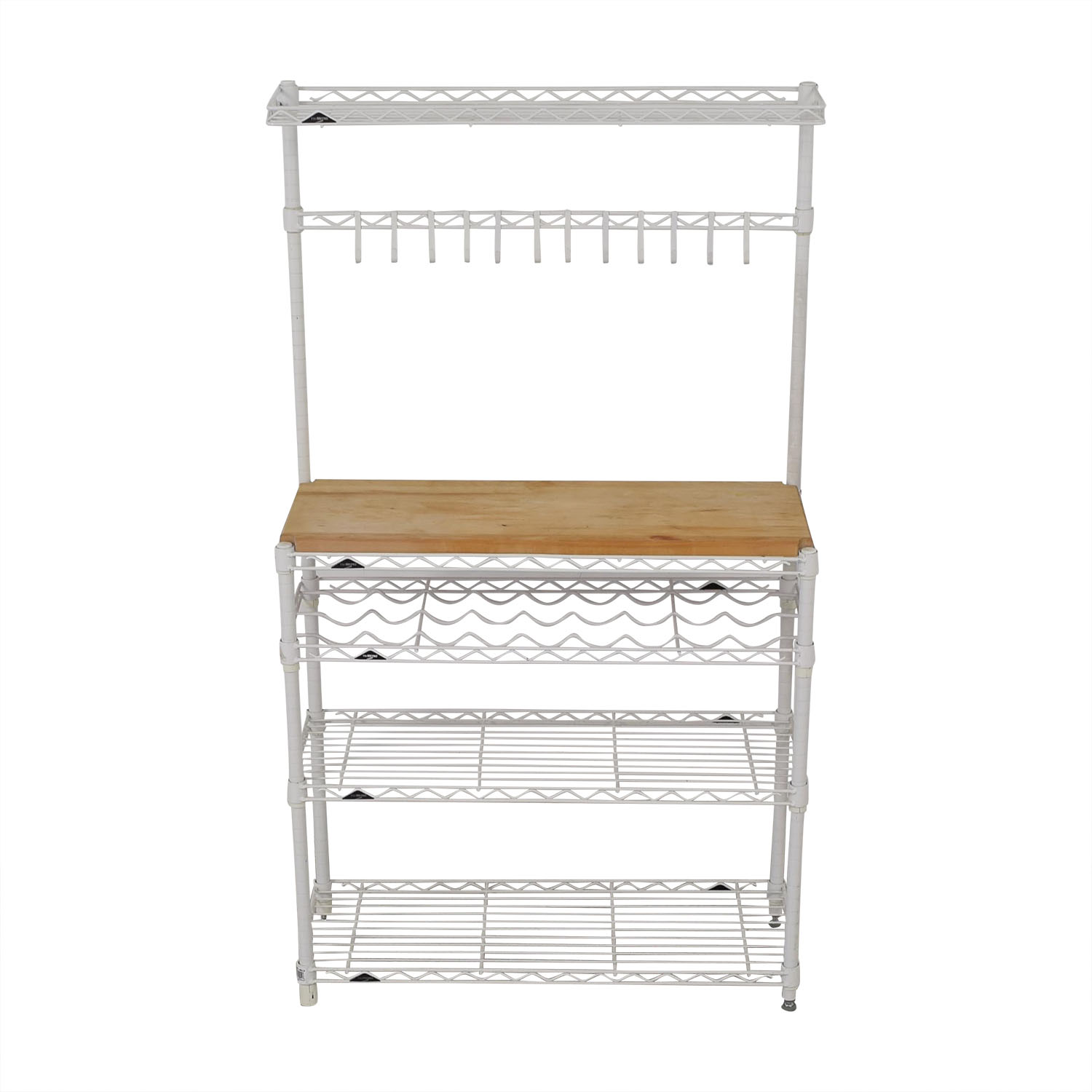 The Container Store The Container Store InterMetro Baker's Rack dimensions
