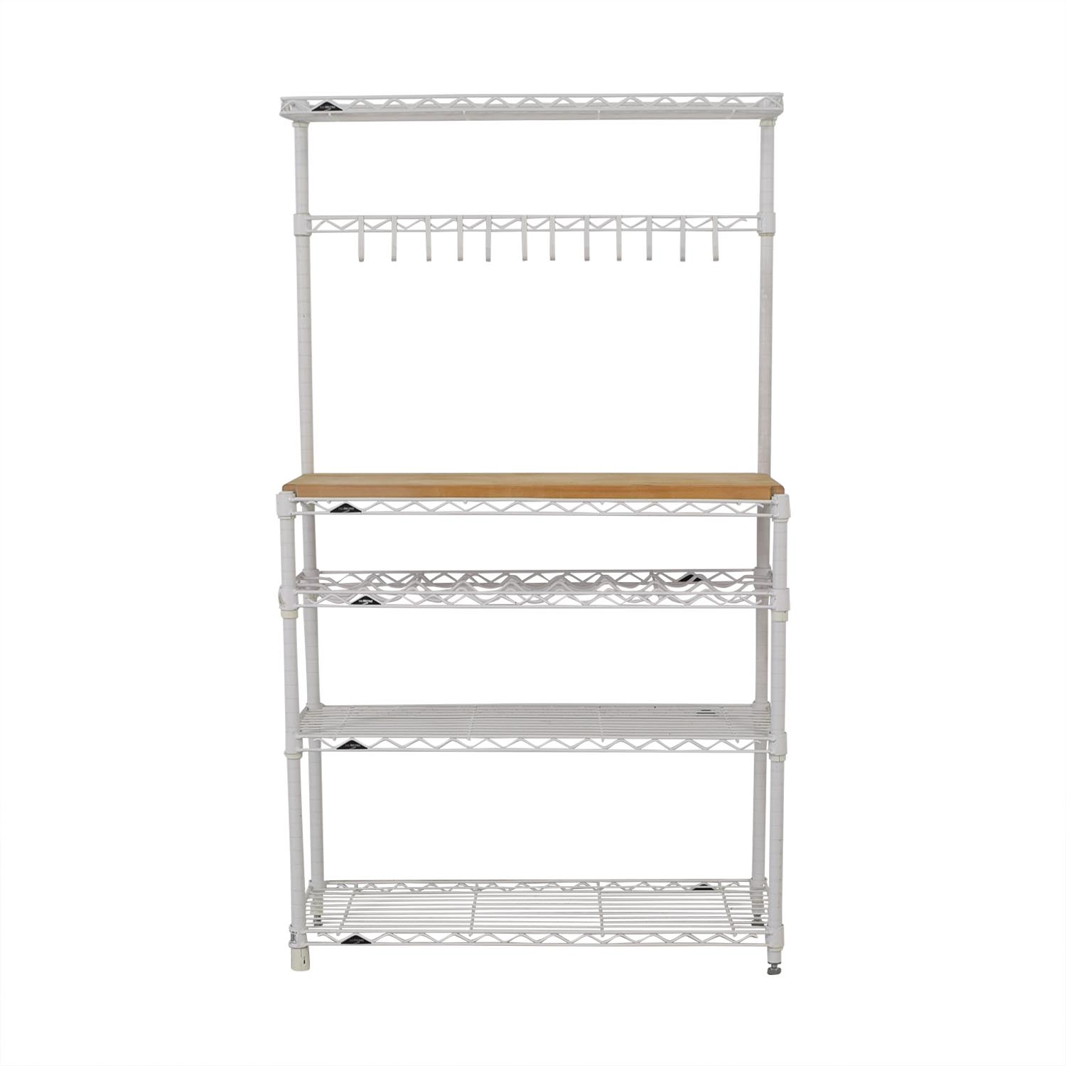 shop The Container Store The Container Store InterMetro Baker's Rack online