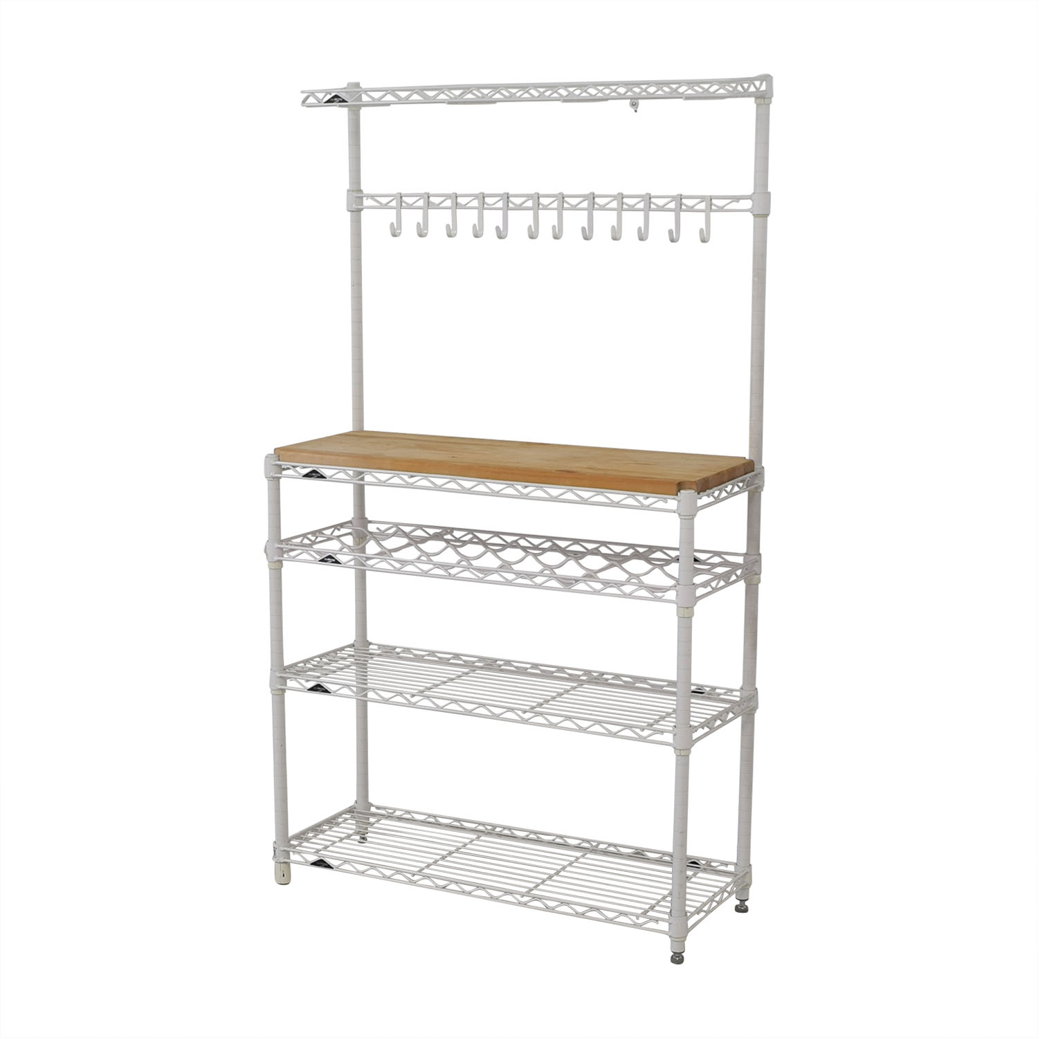 shop The Container Store InterMetro Baker's Rack The Container Store