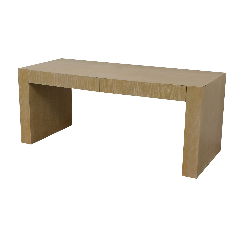 buy Two-Drawer Desk  Home Office Desks