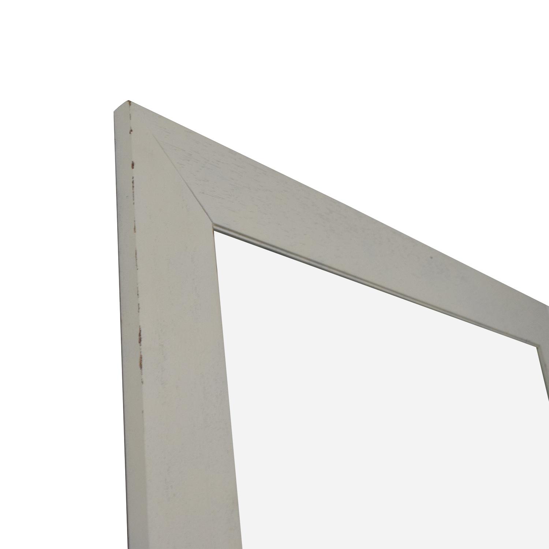 Crate & Barrel Crate & Barrel White Floor Mirror nyc
