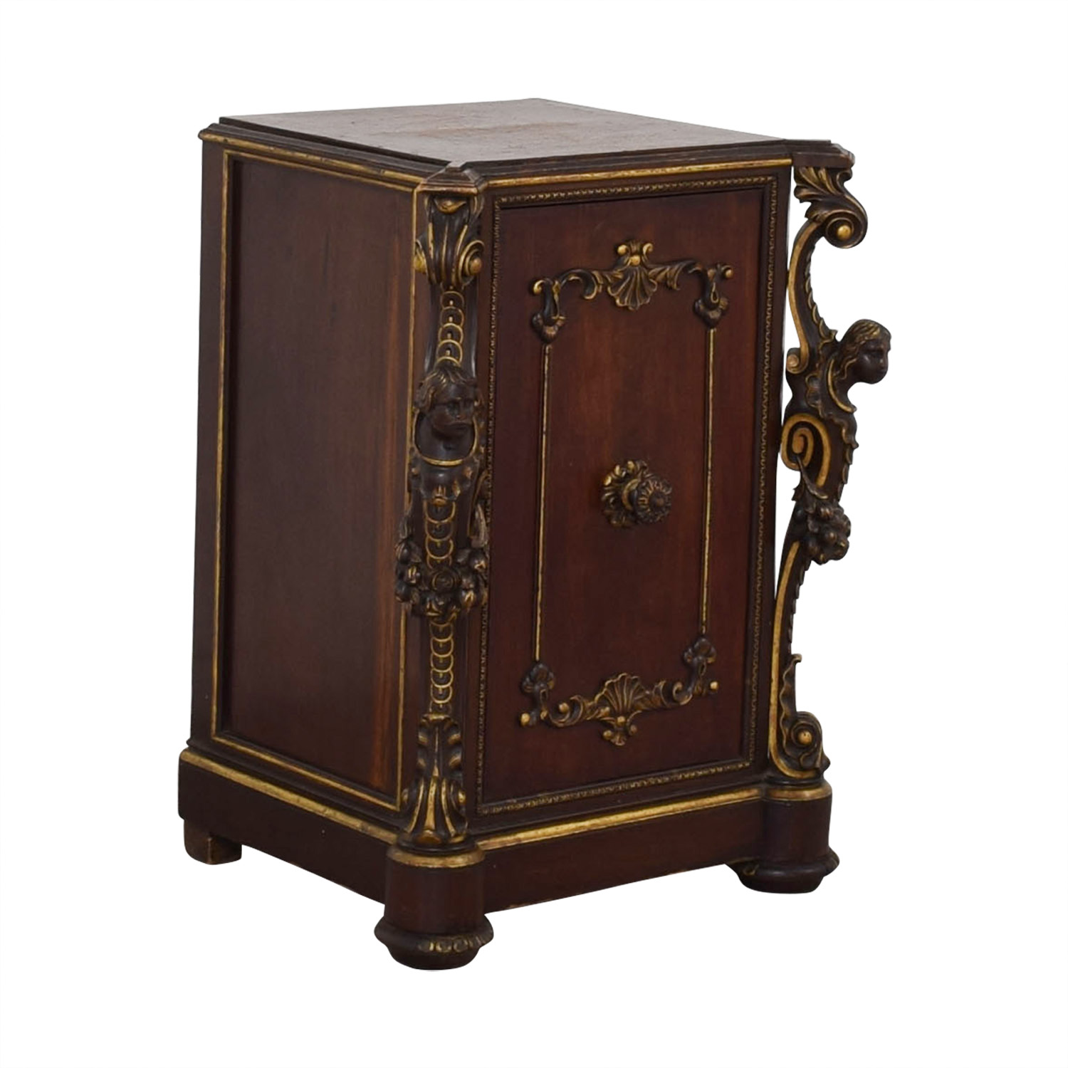 ABC Carpet & Home ABC Carpet & Home Antique Cabinet with Gothic Heads coupon