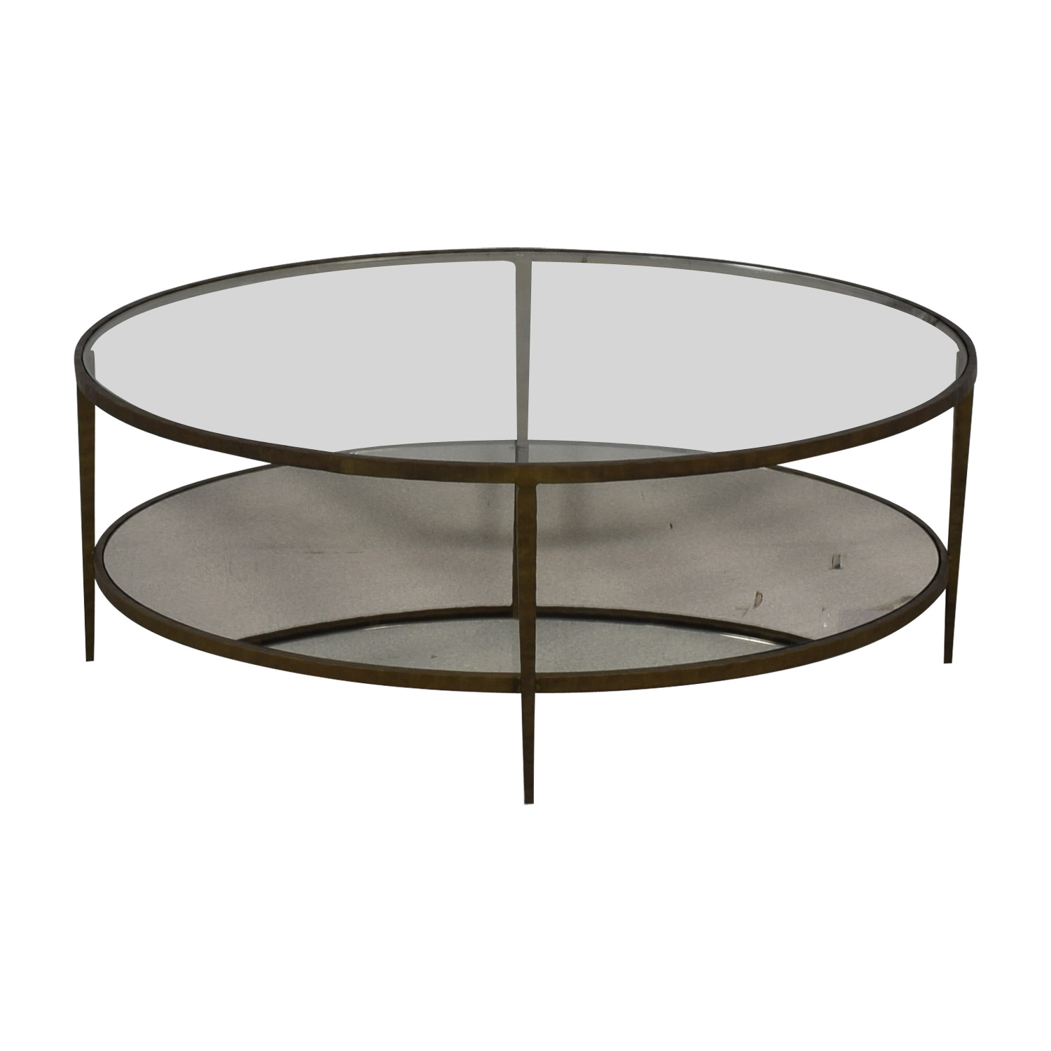buy Crate & Barrel Crate & Barrel Clairemont Oval Coffee Table online