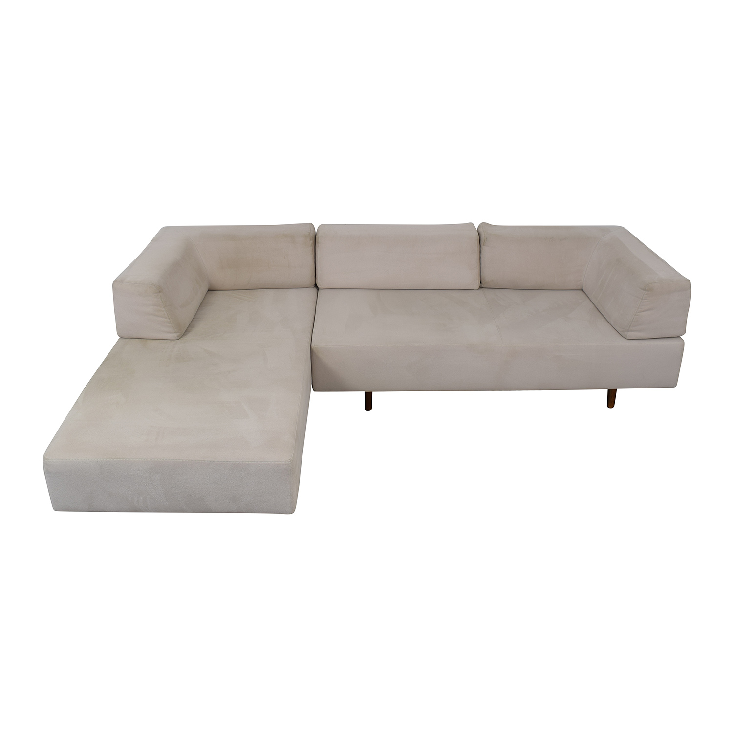 West Elm West Elm Tillary Sectional Sofa and Chaise Lounge second hand