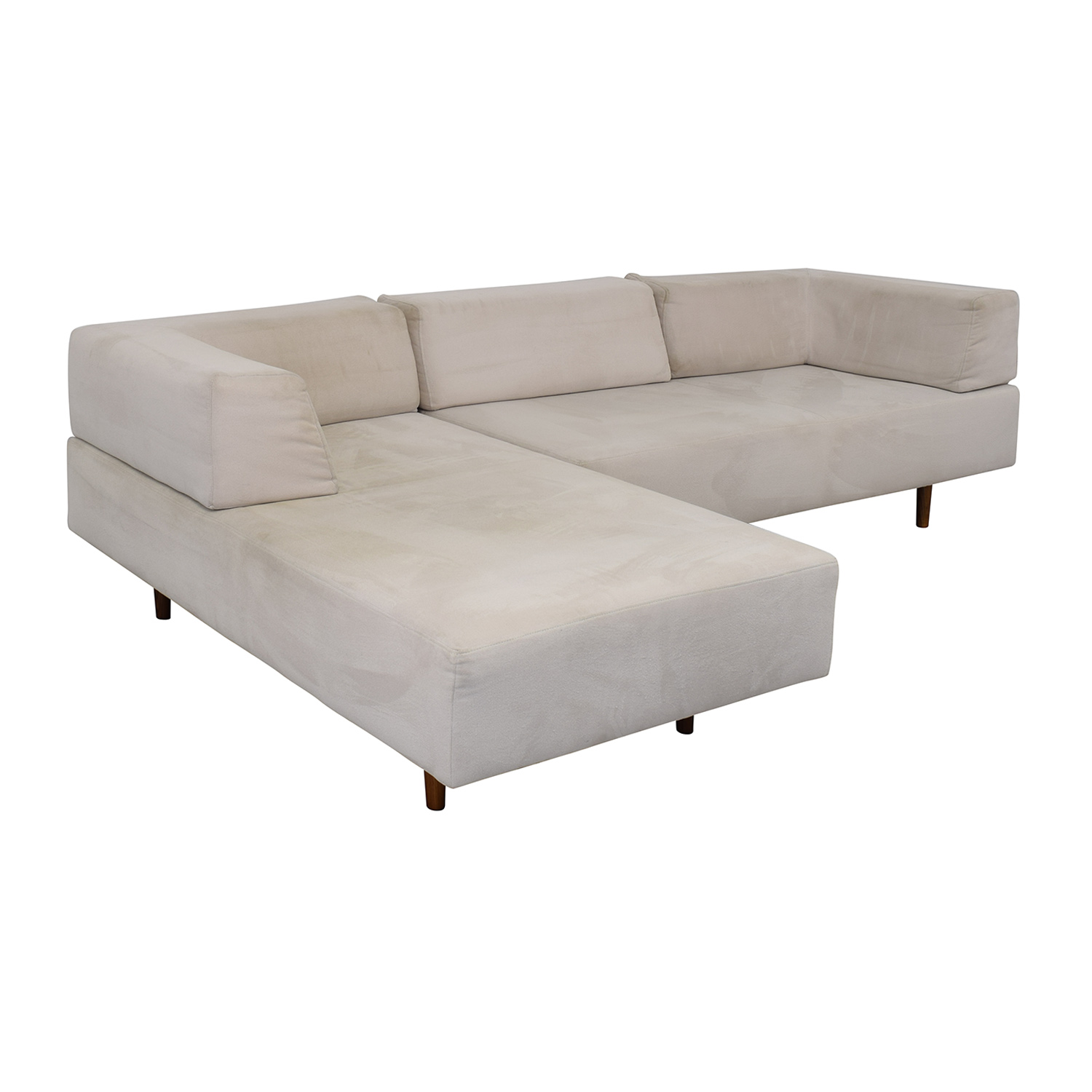 shop West Elm Tillary Sectional Sofa and Chaise Lounge West Elm Sectionals