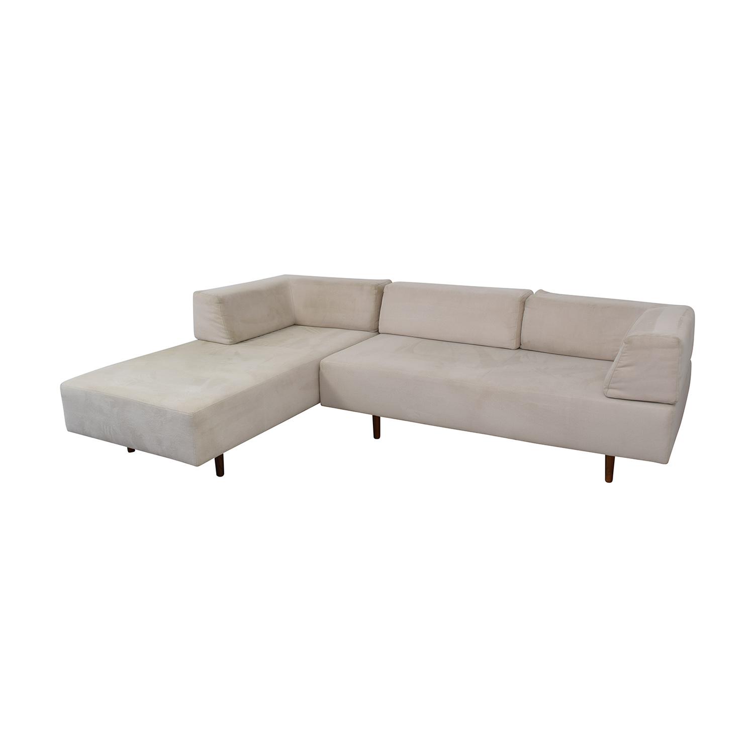buy West Elm Tillary Sectional Sofa and Chaise Lounge West Elm Sofas