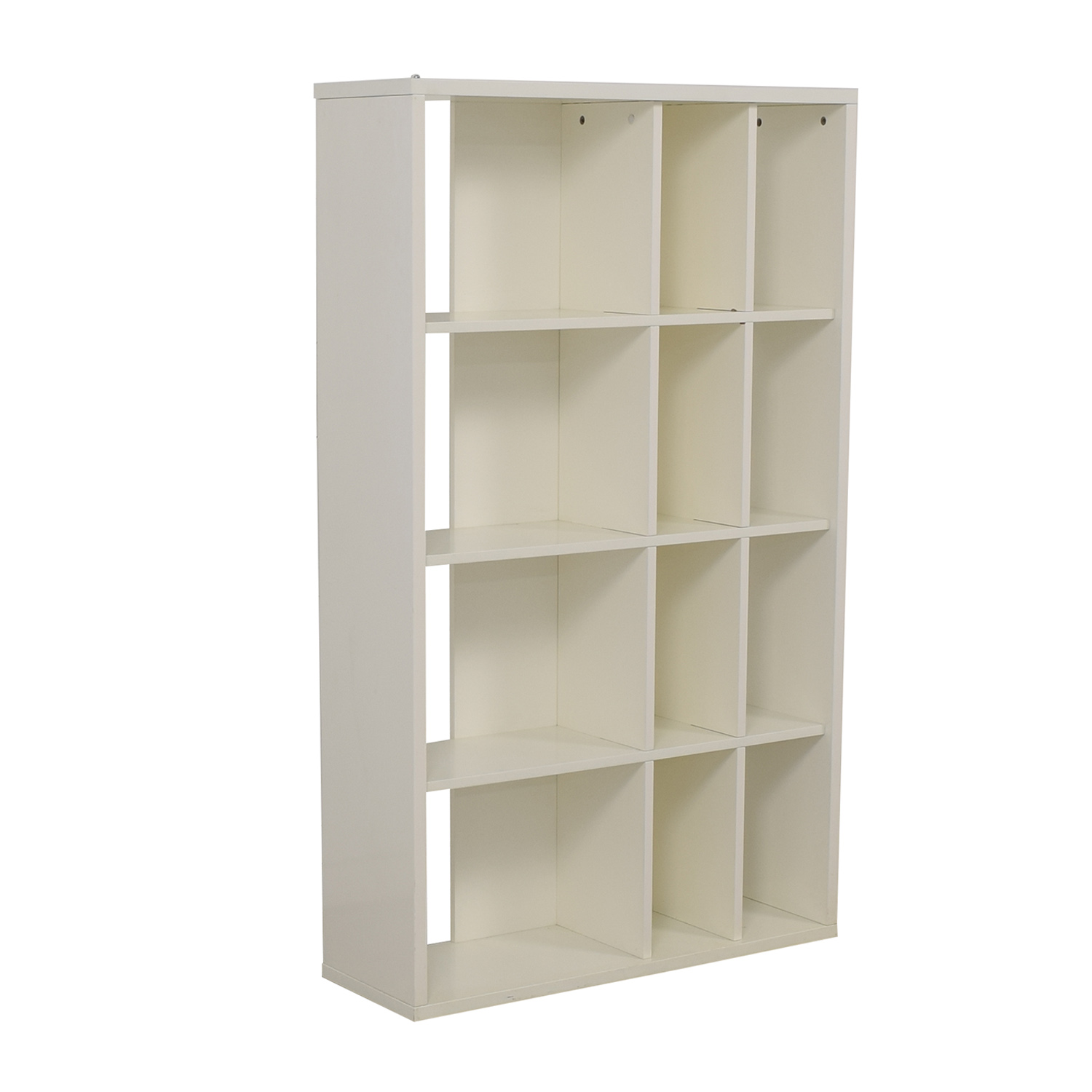 buy Crate & Barrel White Bookcase Crate & Barrel Bookcases & Shelving