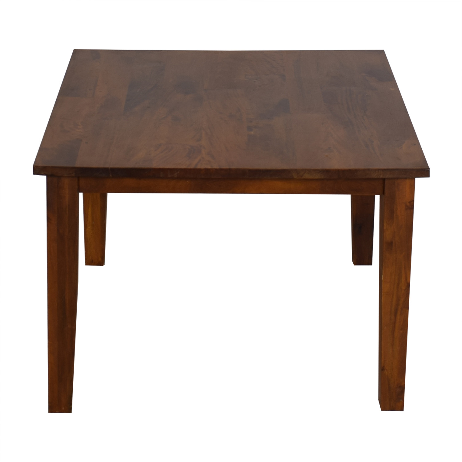 Crate & Barrel Crate & Barrel Dining Table brown.