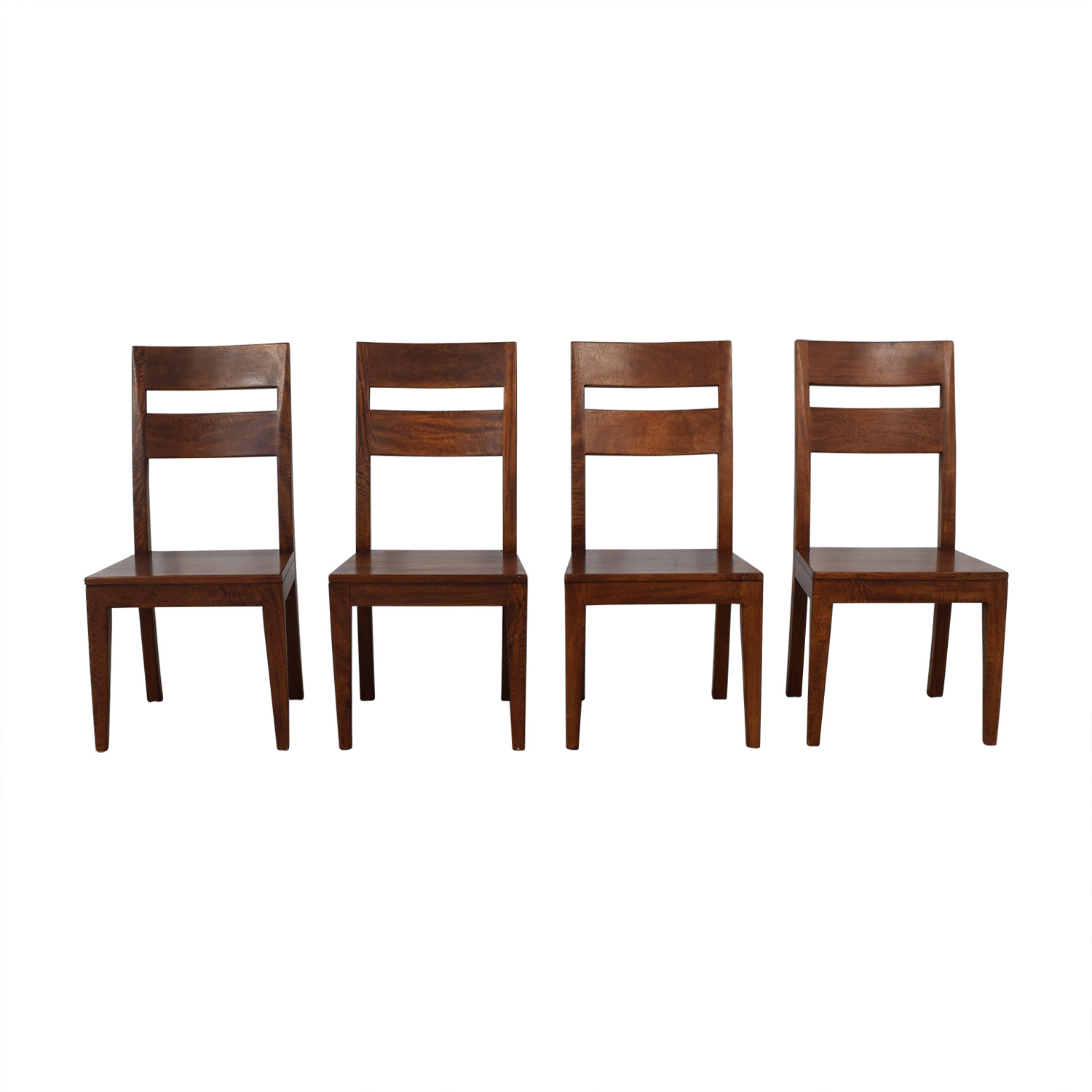 Crate & Barrel Crate & Barrel Basque Chairs dimensions