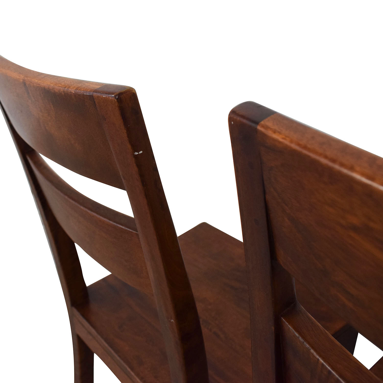 Crate & Barrel Crate & Barrel Basque Chairs price