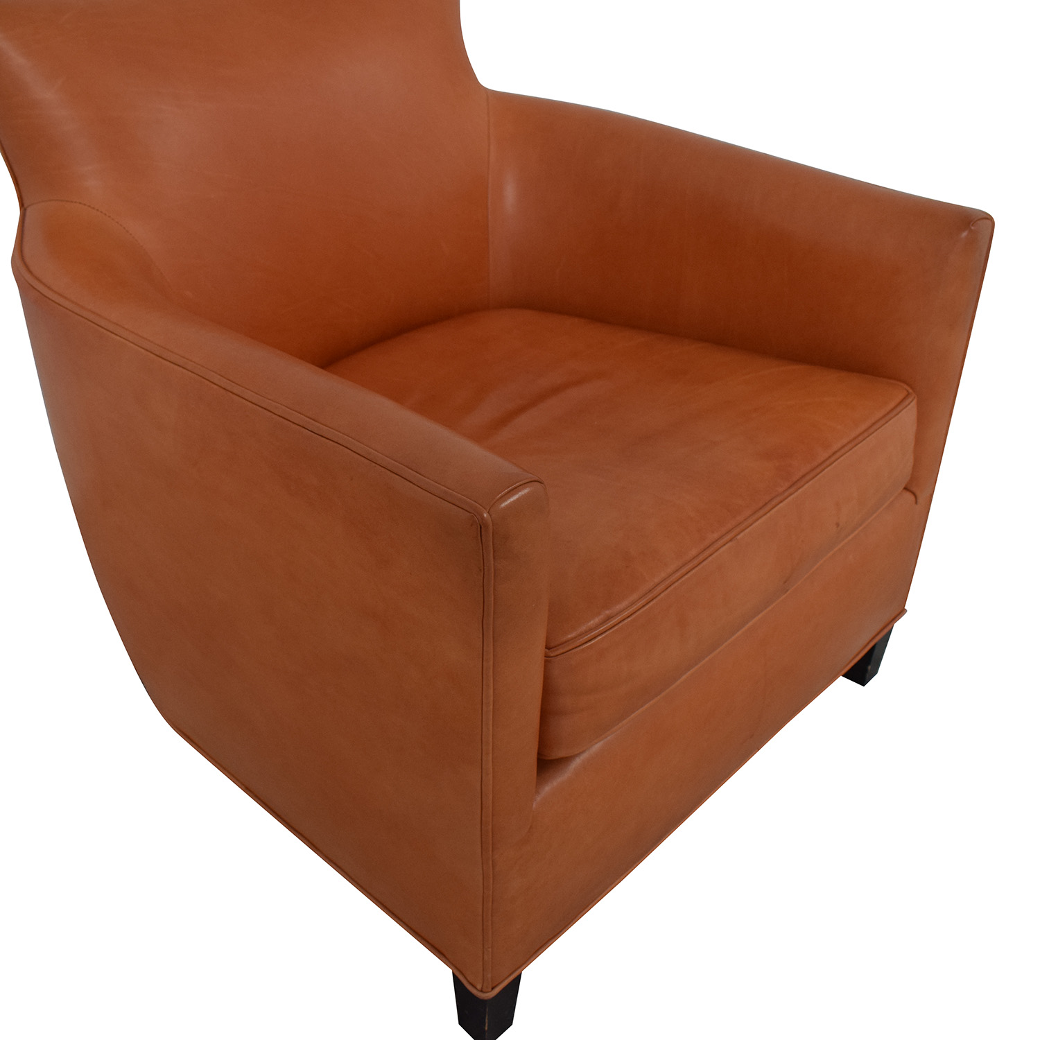 buy Crate & Barrel Orange Accent Chair Crate & Barrel Chairs