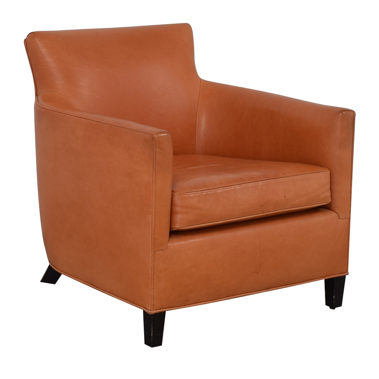 buy Crate & Barrel Crate & Barrel Orange Accent Chair online