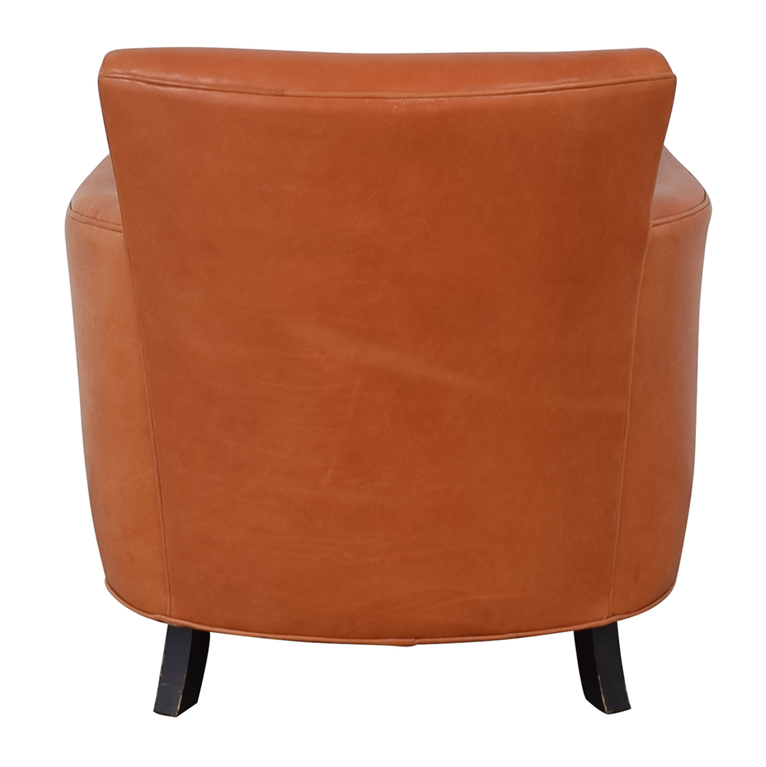 Crate & Barrel Crate & Barrel Orange Accent Chair price