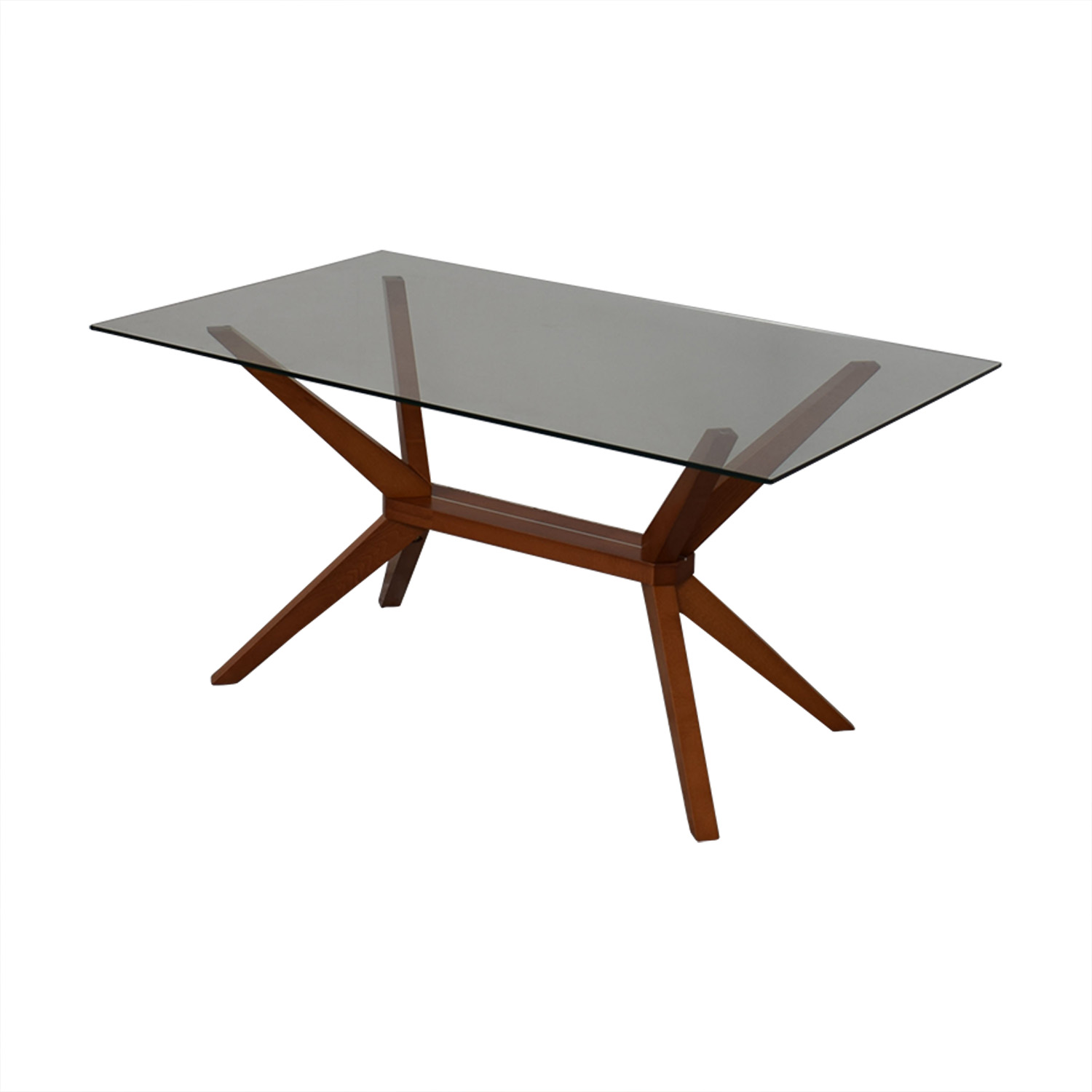 buy Inmod Magna Glass Dining Table Inmod