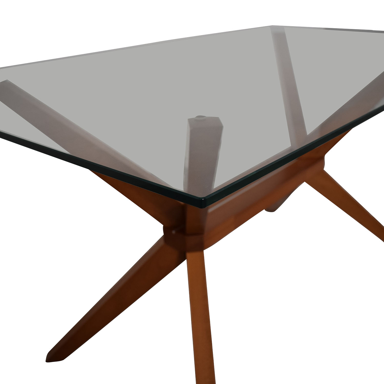 Inmod Inmod Magna Glass Dining Table for sale