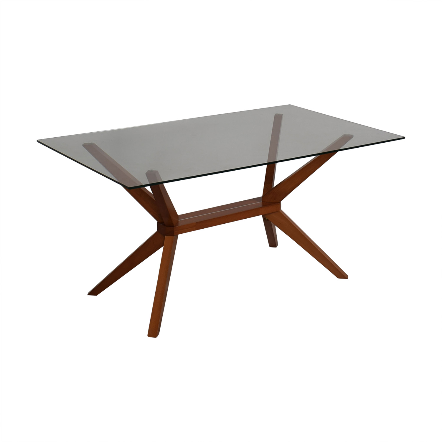 shop Inmod Magna Glass Dining Table Inmod
