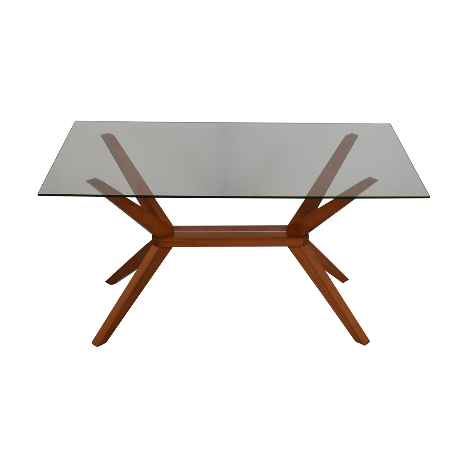 Inmod Inmod Magna Glass Dining Table on sale
