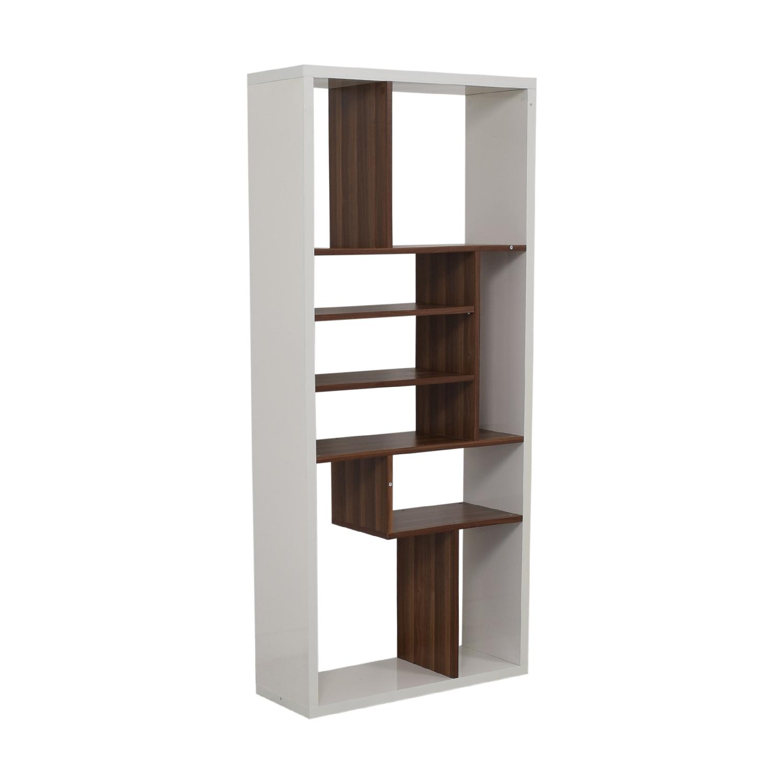 shop Allmodern White Bookcase AllModern